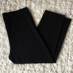 3/30$🌸Ardene 95% cotton black cropped leggings